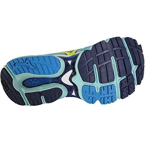 Zapatillas Para Correr Mizuno Mujeres Wave Enigma 3 Running Azul / Amarillo / Azul Marino
