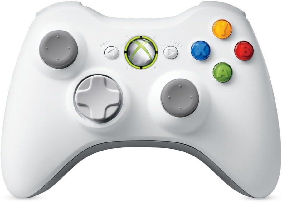 Xbox 360 - Mando inalámbrico para Xbox 360, color blanco: Amazon.es: Electrónica