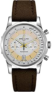 Breitling Transocean Chronograph Edition Mens Watch AB015412/G784-108W