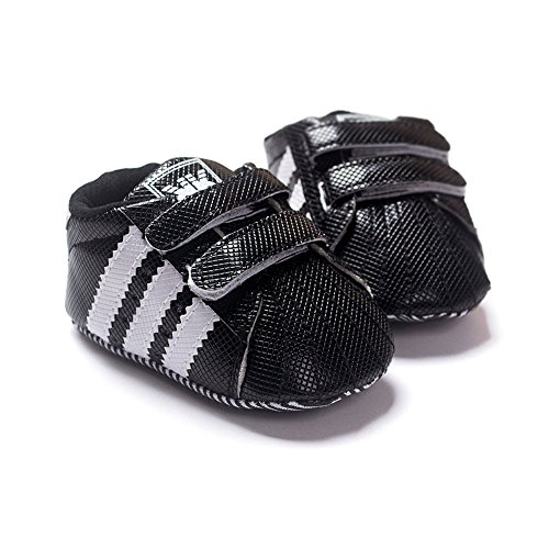 Baby Booties to Baby Shoes: LIVEBOX Newborn Baby Boys' Premium Soft Sole Infant Prewalker Toddler Sneaker Shoes