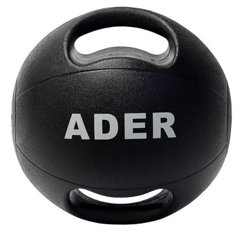 Double Grip Medicine Ball Set- (16 & 22 lb) by Ader Sporting Goods