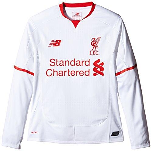 - New Balance 2015-2016 Liverpool Away Long Sleeve Shirt (Kids)
