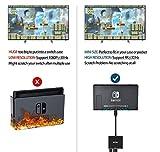 HDMI Type C Hub Adapter for Nintendo Switch,VZUJ
