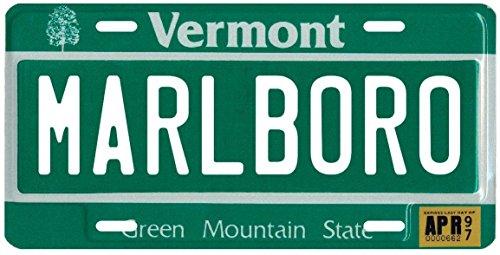 marlboro-vt-1997-vermont-metal-license-plate
