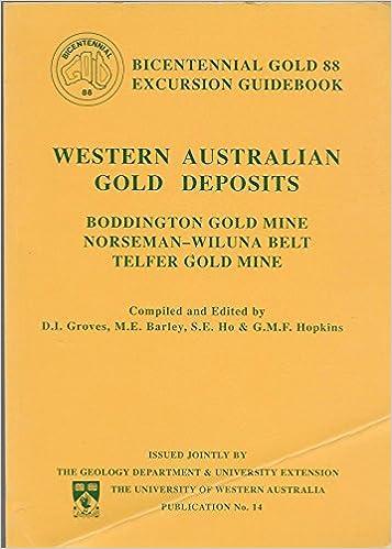 Western Australian Gold Deposits Boddington Gold Mine