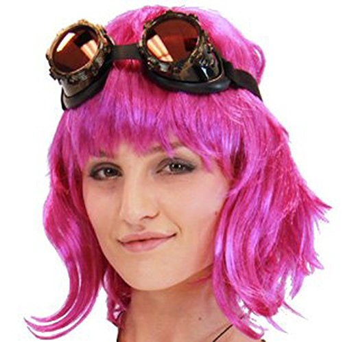 TV Store Scott Pilgrim Vs. The World Ramona Flowers Costume Wig (Hot Pink) -