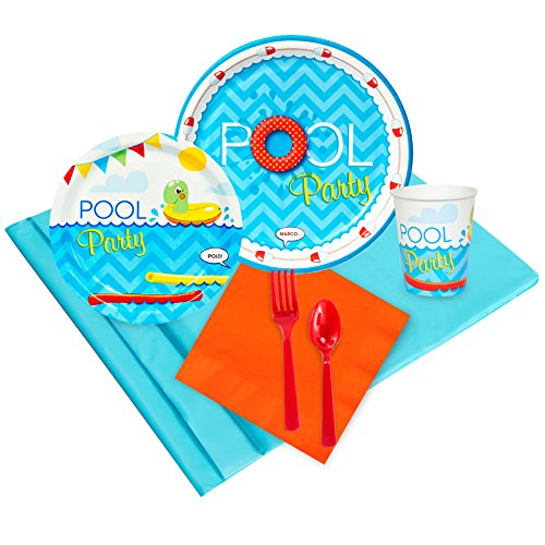 Splashin Pool Party Pack for 24