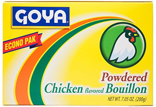 Goya Chicken (Goya Foods Chicken Flavored Bouillon Powder Econo Pak, 7.05 Ounces)