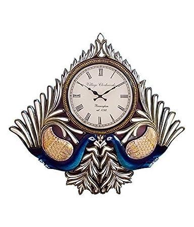 RoyalsCart Peacock Analog Wall Clock [KTWC206]