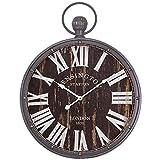 Yosemite Home Decor CLKA1384 Pendant Iron Wall Clock Multi Review