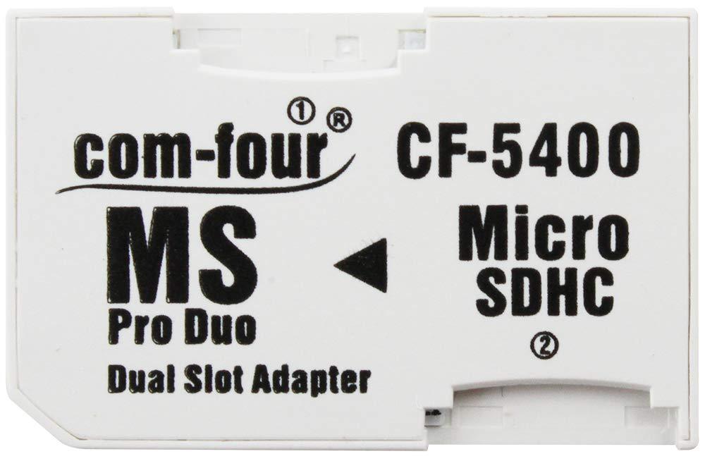 Doble Micro SD a MS Pro Duo Adaptador de Tarjeta de Memoria microSD con Memory Stick para Sony PSP Camera Phone MAX. 32 GB
