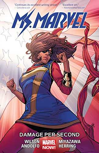 Ms. Marvel Vol. 7: Damage Per Second (Ms. Marvel (2015-)) by [Wilson, G.]