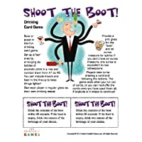 Shoot the Boot Printable Drinking Card Game for Mac [Download]