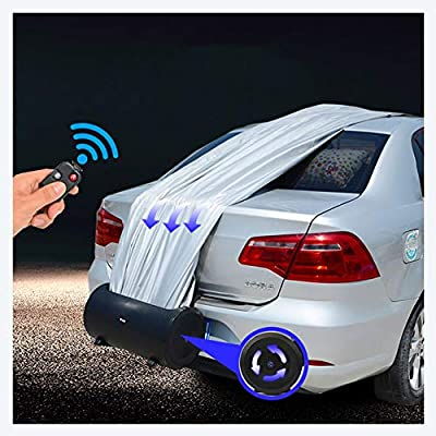 Cassiel Y Intelligent Remote Control car Cover car Cover Super Solar Rechargeable Automatic car Clothing Waterproof and Snowproof Sunscreen Insulation