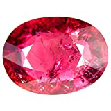 9.09 ct AAA Grade Oval Shape (15 x 11 mm) Mozambique Pink Tourmaline Natural Loose Gemstone