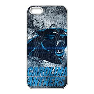 Garolina Panthers Pattern Fashion Comstom Plastic case cover For Iphone 5s