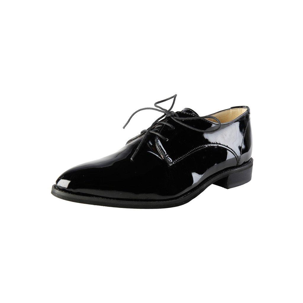 19V69 Mirabelle, Zapatos de Cordones Derby para Mujer 36 EU|Negro