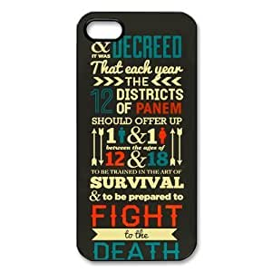 The Hunger Games: Catching Fire iPhone 5 5S Best Durable Cover Case by supermalls