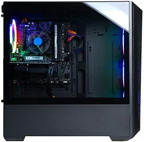 CyberpowerPC Gamer Xtreme VR Gaming PC, Intel i5-10400F 2.9GHz, GeForce GTX 1660 Super 6GB, 8GB DDR4, 500GB NVMe SSD, WiFi Ready & Win 10 Home (GXiVR8060A10)