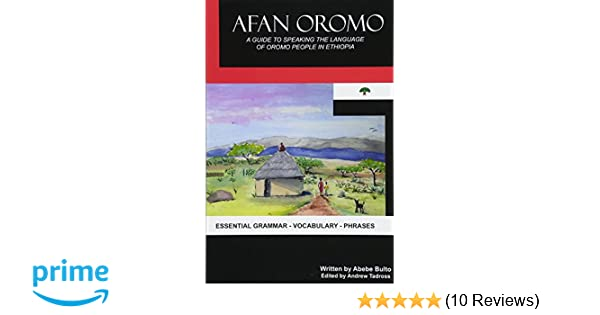 Amazon com: Afan Oromo: A Guide to Speaking the Language of