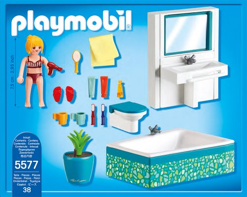 Amazon.de:Playmobil 5577   Modernes Badezimmer