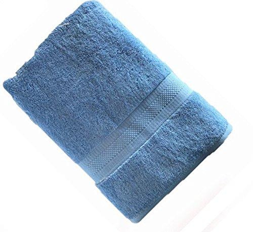 Organic Premium Cotton Bath Towel; Durable, Soft, Extra Absorbent, Premium Quality GOTS Certified Organic Cotton; Enhanced Luxury for Every Bath Décor