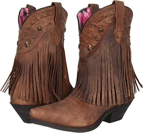 (Dingo Women's Hang Low Boot,Brown,7 M US)