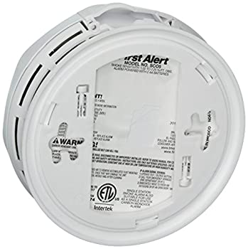 First Alert Sco5cn Combination Smoke & Carbon Monoxide Alarm, Battery Operated 1
