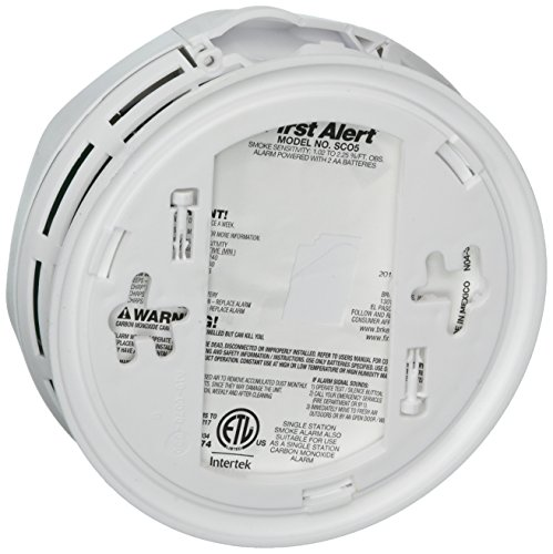 029054856920 - First Alert SCO5CN Battery Operated Combination Carbon Monoxide/Smoke Alarm carousel main 1