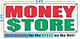 MONEY STORE All Weather Full Color Banner Sign