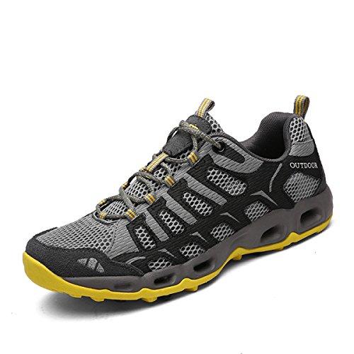 Al gray2 LXXAUnisex Secado Atletismo Rápido Respirable Verano Zapatos Pareja Acoplamiento Libre Aire De Zapatillas De Con Cordones qafXrnaxw