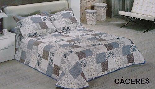 Dolz.- Colcha Caceres para cama de 150 (250x270 cm) + 2 ...