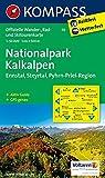 Nationalpark Kalkalpen: Offizielle Wanderkarte mit Radrouten, Skitouren und Aktiv Guide. GPS-genau. 1:50000 (KOMPASS-Wanderkarten, Band 70)