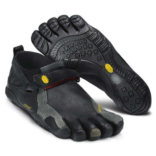 Vibram FiveFingers KSO Trek, Size:43;Color:Black/Grey/Red