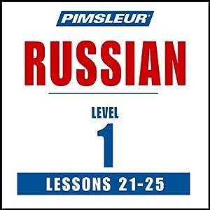 Russian Level 1 Lessons 21-25 Speech