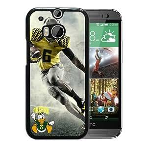 New Unique Custom Designed Case With Oregon Ducks Black For HTC ONE M8 Phone Case