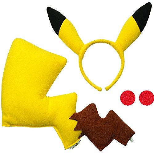 Ash Ketchum Female (Rubie's Pikachu Costume Kit)