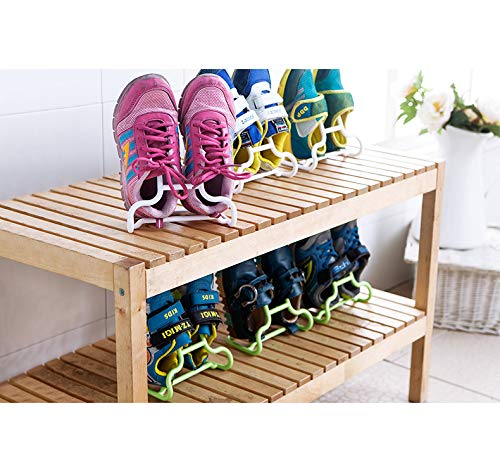 Amazon.com: PENGKE Shoe Slots Plastic Shoe Holders,Space ...
