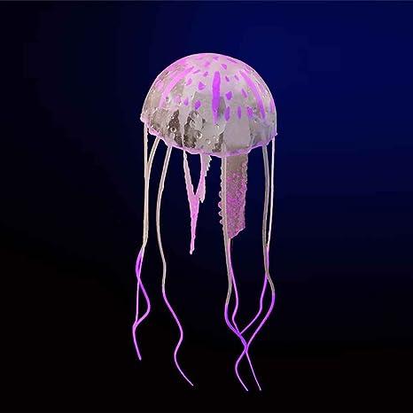 shangjunol Resplandeciente Ornamento Submarino Efecto Artificial Medusas del Acuario Acuario Decoraciš®n Mini: Amazon.es: Hogar