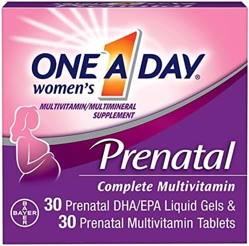 Multivitamins: One A Day Prenatal