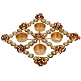 ShalinIndia Beautiful Diya Christmas Rangoli Decorations & Puja -Perfect for Everyday Decor- Lovely Gift Idea for Any Occasion