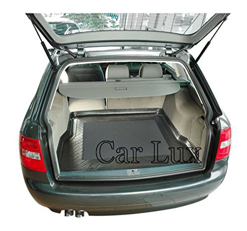 Car Lux AR00787 Alfombra Cubeta Protector cubre maletero a medida con antideslizante para A6 Allroad