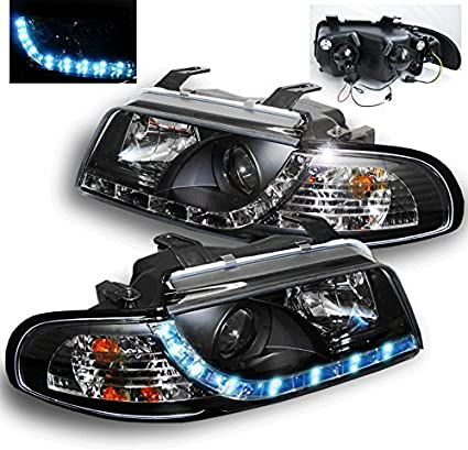 Amazoncom Zmautoparts Audi A4 S4 B5 Drl R8 Led Projector