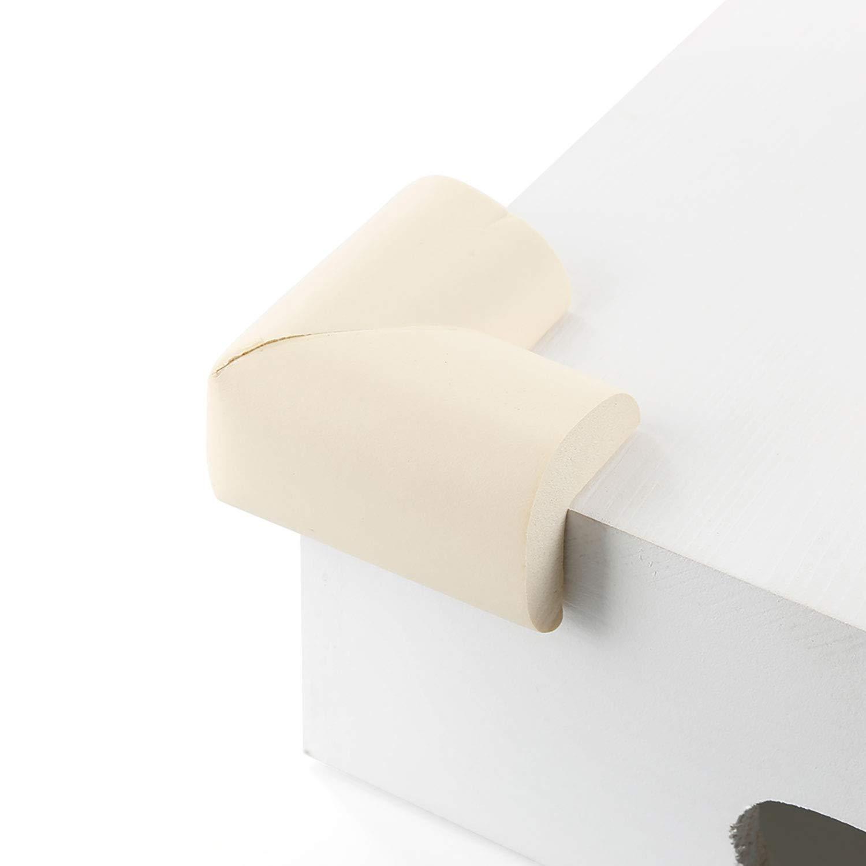 Protectores de Esquina de Seguridad Infantil Corte a tama/ño 1.9M Cubierta del radiador Parachoques de Cuna Protector de Borde para ni/ños TRIXES Foam Corner Protectors Prueba de ni/ños