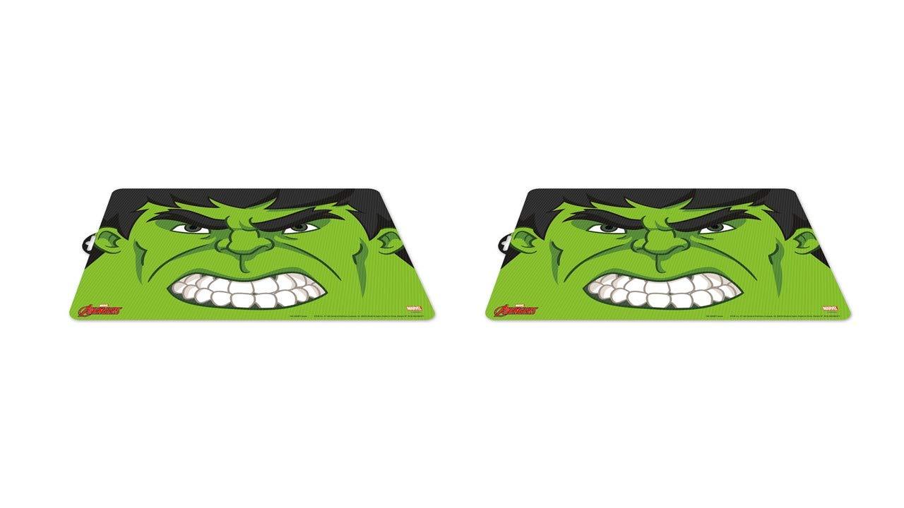 ALMACENESADAN 2452; pack 2 Hulk place mats; dimensions 43x29 cm; plastic product; No BPA