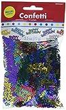 Amscan Balloon Fun Birthday Party Metallic Confetti, Multi, 25 Ounces, Paper Childrens (12 Piece)