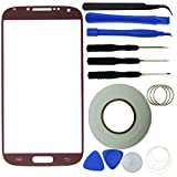 Eco-Fused Screen Replacement Kit for Samsung Galaxy S4 including Replacement Glass / Tool Kit / Adhesive Sticker Tape / Tweezers / Microfiber Cleaning Cloth / Instruction Manual
