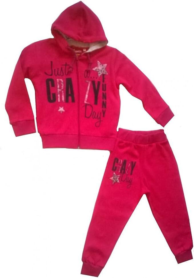 Fashion-Chándal infantil Aéropilote rosa, 4, 6, 8, 10 y 12 años ...