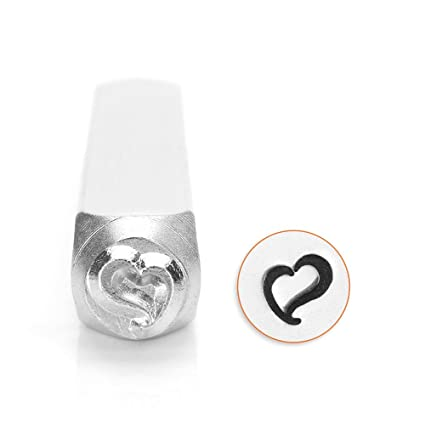 Amazoncom ImpressArt Metal Jewelry Design Stamp Swirly Heart