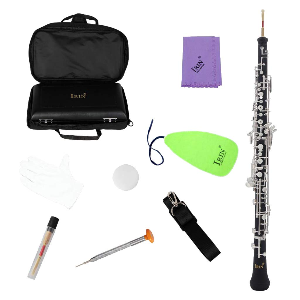 Homyl IRIN IRIN IRIN C Key Semi-automatische Oboe Wind Holzblasinstrument Mit Reed Case Strap 046db2